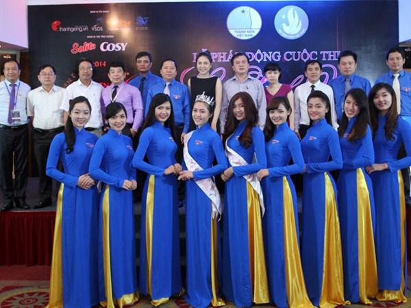 Khởi động cuộc thi Nữ sinh viên Việt Nam duyên dáng 2014