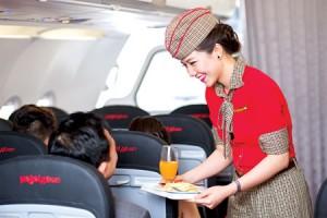 Tiếp viên hàng không được đi nhiều mơ mang kiến thức
