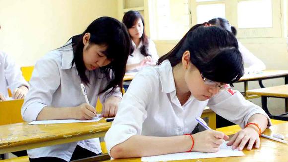 Nhiều điểm 10 ở môn thi Toán tại Hà Nội