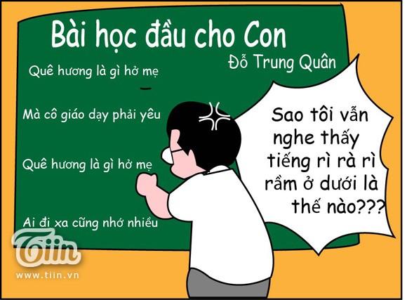 anh3 - Bộ tranh vui nhộn về những câu nói quen tai của thầy cô trên bục giảng