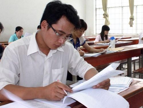Các trường đang hoàn thiện việc chấm thi THPT quốc gia