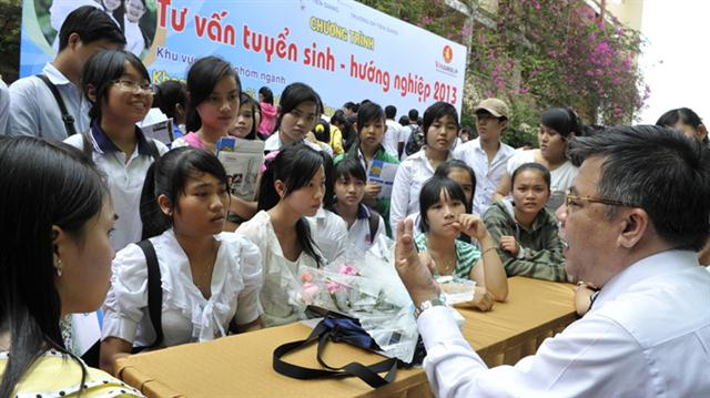 cong tac huong nghiep duoc day manh