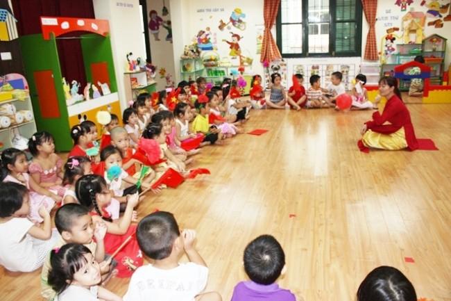 Bộ GD-ĐT công nhận tỉnh Quảng Nam đạt chuẩn phổ cập giáo dục mầm non
