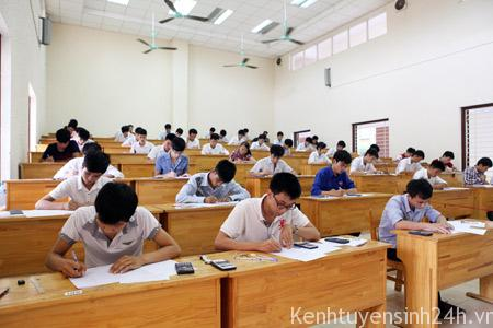 Cụm thi THPT quốc gia xét tuyển đại học sẽ đặt ở trung tâm tỉnh