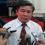 Ong Bui Van Ga tra loi phong van bao chi ky thi THPT Quoc gia 2016
