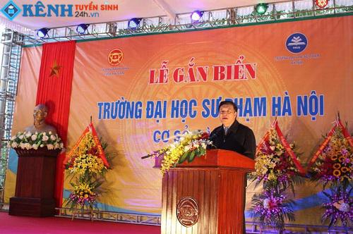 Le thanh lap truong dai hoc su pham Ha Noi co so 2 Ha Nam