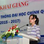 Le khai giang lien thong trung cap len dai hoc khoa 2015 - 2017