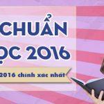 Tong hop danh sach cac truong dai hoc 2016