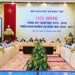 hoi nghi tong ket nam hoc 2015 2016 va trien khai nhiem vu nam hoc 2016 2017