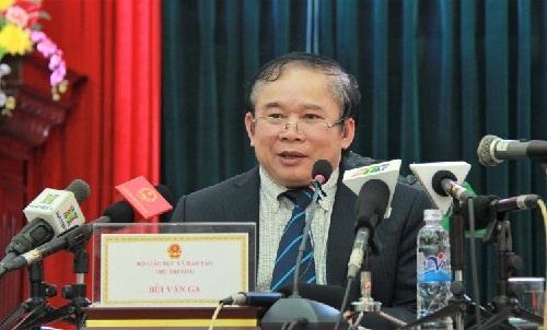 Ong Bui Van Ga chinh thuc cong bo phuong an thi xet tot nghiep va tuyen sinh 2017