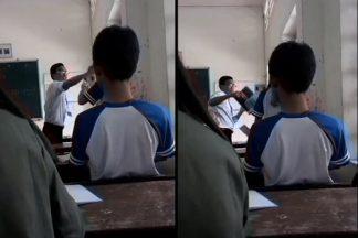 """Bàng hoàng: Thầy giáo và nữ sinh đánh nhau """"tay đôi"""" trong lớp"""