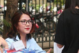 Trường Đại học quy tụ toàn những nữ sinh xinh đẹp tại Hà Nội