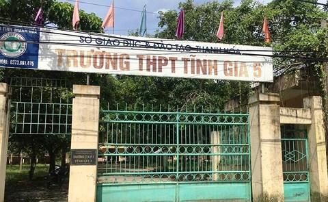 Giải Thể 5 Trường THPT Tại Thanh Hóa