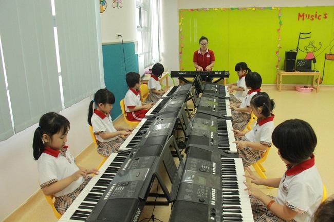 Phòng học thanh nhạc trường mầm non VinSchool