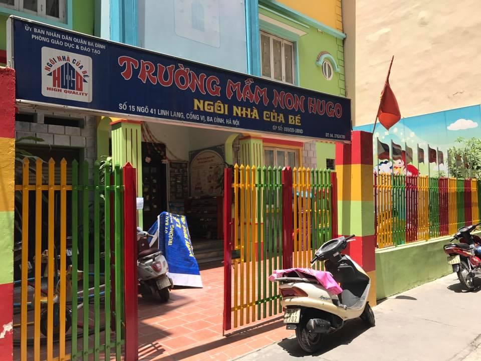 Co so 1 truong mam non hugo - Trường Mầm Non Hugo Giảng Dạy Với Phương Pháp Ưu Việt Nhất
