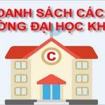 chon truong dai hoc khoi c