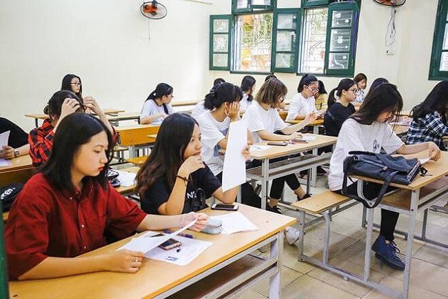 Sinh viên tại Trường Đại học Việt Đức