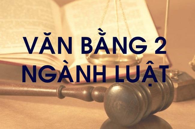 Học văn bằng 2 ngành luật
