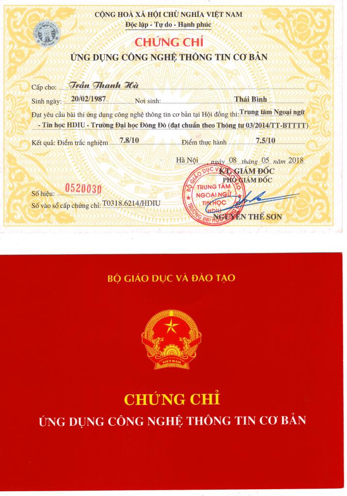 chung chi tin hoc thong tu 03 716x1024 - Chứng Chỉ Tin Học TT03/2014 Cấp Tốc