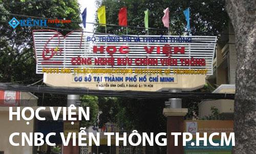 Hoc vien buu chinh vien thong tp hcm - Điểm Chuẩn Học Viện Công Nghệ Bưu Chính Viễn Thông Cơ Sở II 2020