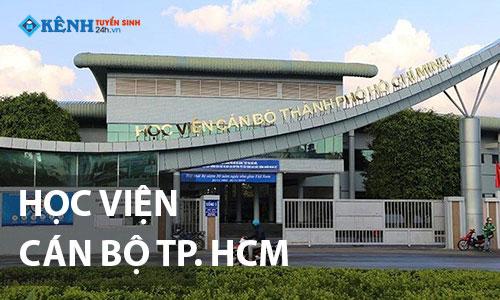 Truong hoc vien can bo tp hcm - Điểm Chuẩn Học Viện Cán Bộ TPHCM 2020 Chính Thức