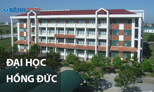 truong dai hoc hong duc - Điểm Chuẩn Đại Học Hồng Đức 2020 Chính Thức